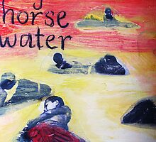 boy horse water by donnamalone