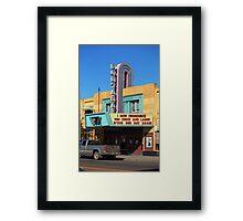 Miles City, Montana - Theater Framed Print