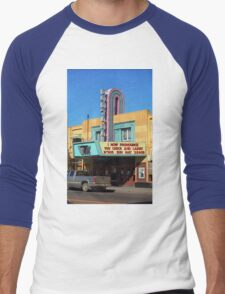 Miles City, Montana - Theater Men's Baseball ¾ T-Shirt