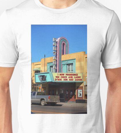 Miles City, Montana - Theater Unisex T-Shirt