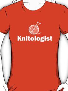 Knitologist Funny Knitting T-Shirt