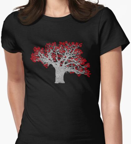Crimson Tree Womens Fitted T-Shirt