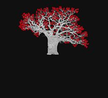 Red Heart Tree Womens Fitted T-Shirt