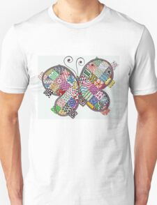 Patchwork Butterfly T-Shirt