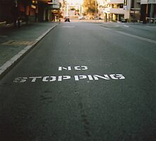 No Stopping by Charlie Watkins