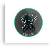 Chibi Cthulhu Metal Print