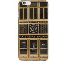 Ornate Entrance to State Office Building iPhone Case/Skin
