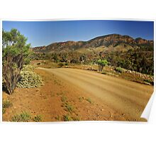 Road Through The Ranges Poster