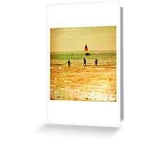 Towards Sunset Greeting Card
