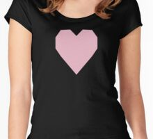 Orchid Pink  Women's Fitted Scoop T-Shirt