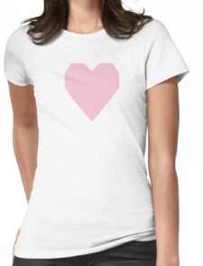 Orchid Pink  Womens Fitted T-Shirt