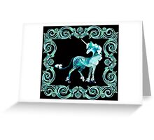 Unicorn Framed Greeting Card