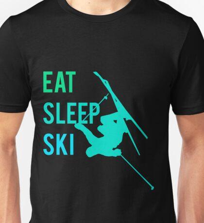 Eat Sleep Ski Unisex T-Shirt