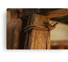 Rusted Wire Canvas Print