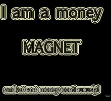 Affirmation - Money Magnet by Susan van Zyl
