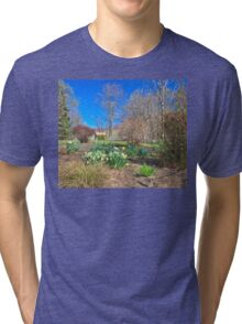 Spring enters the Greene Tri-blend T-Shirt