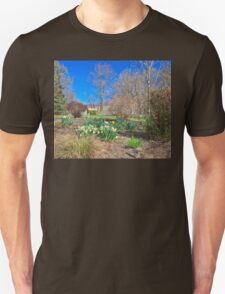 Spring enters the Greene Unisex T-Shirt