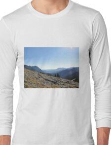 Hurricane Ridge Olympic Peninsula Long Sleeve T-Shirt