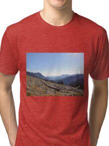 Hurricane Ridge Olympic Peninsula Tri-blend T-Shirt