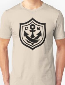 Splatoon Black Anchor T-Shirt
