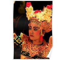 Legong - Bali - Indonesia Poster