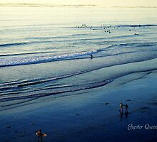 WALKING ON PACIFIC OCEAN BEACH by Jupiter Queen