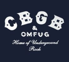CBGB & OMFUG Kids Clothes