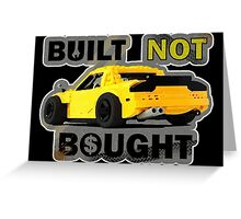 Built not Bought - RX7 Greeting Card