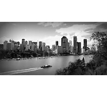 The Brisbane River Photographic Print