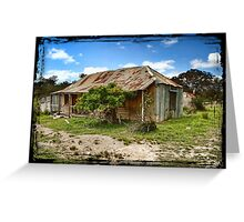 Hill End Cottage Greeting Card