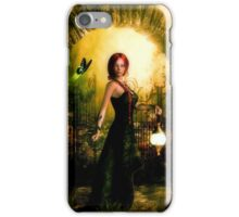 Green Eyed Lady iPhone Case/Skin