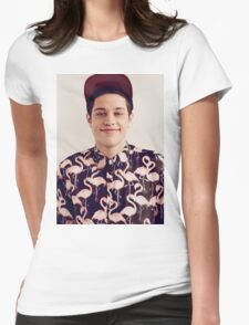 Pete Davidson Womens Fitted T-Shirt