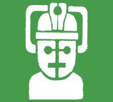 Cyberman Robot - white Kids Clothes