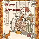 Kris Kringle's Kitty Card by redqueenself