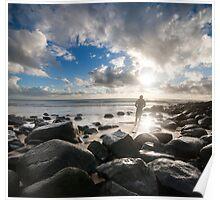 Surfer   Burleigh Heads   Gold Coast   Australia Poster