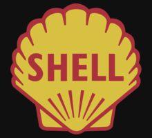 SHELL ROYAL DUTCH OIL OLD VINTAGE LOGO by bagbug