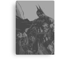 Batman Vs Superman Canvas Print