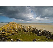 North Uist: Rocks and Clouds Photographic Print
