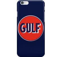 VINTAGE GULF OIL LOGO RACING  iPhone Case/Skin