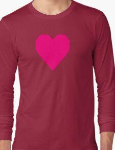 Bright Pink  Long Sleeve T-Shirt