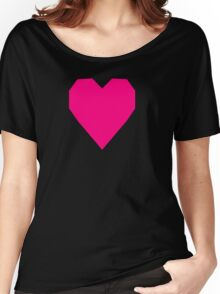 Bright Pink  Women's Relaxed Fit T-Shirt