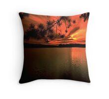 Algonquin Sunset Throw Pillow