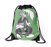 Ace, Your Creative Friend Drawstring Bag