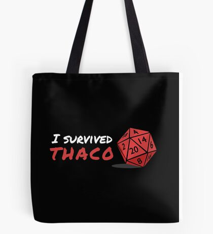 I survived THAC0 Tote Bag