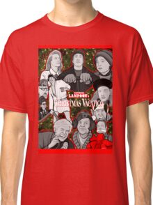 national lampoon's christmas vacation tribute art Classic T-Shirt