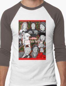 national lampoon's christmas vacation tribute art Men's Baseball ¾ T-Shirt
