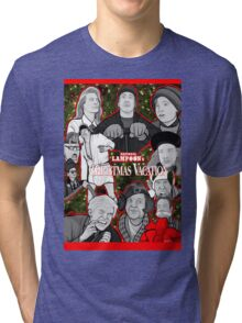 national lampoon's christmas vacation tribute art Tri-blend T-Shirt