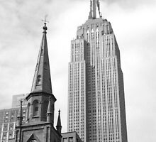 Empire State of Mind-Grayscale by BklynVanech