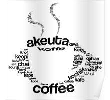 Coffee regular Poster