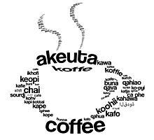 Coffee regular Photographic Print